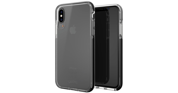 GEAR4 D3O Piccadilly Apple iPhone X Back Cover Zwart