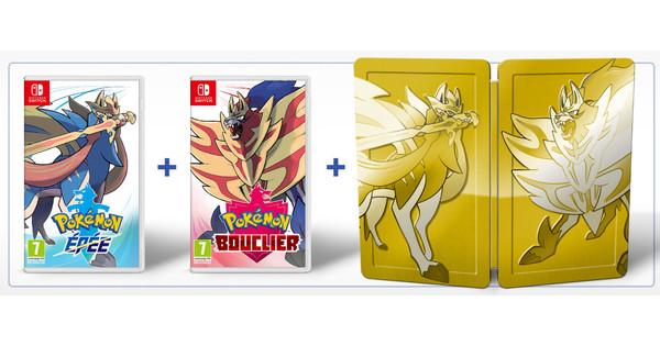 Duopakket Pokémon Sword + Pokémon Shield