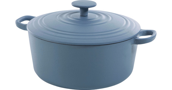 BK Bourgogne Dutch oven 24cm Denim Blue
