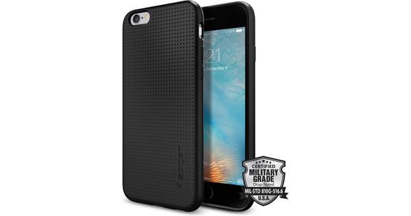 Spigen Liquid Air Apple iPhone 6/6s Zwart