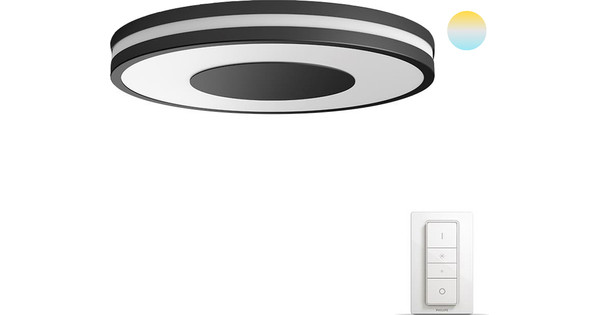 Philips Hue Being Ceiling Lamp Black
