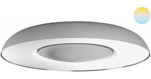 Philips Hue Still Ceiling Lamp Aluminum