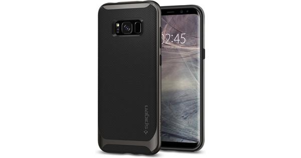 Spigen Neo Hybrid Samsung Galaxy S8 Back Cover Grijs