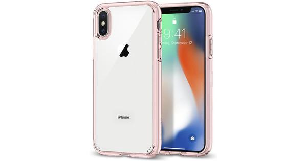 Spigen Ultra Hybrid Apple iPhone X Back Cover Rose Gold
