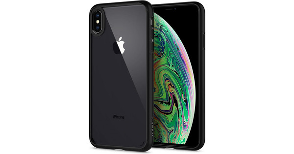Spigen Ultra Hybrid iPhone Xs Max Back Cover Black