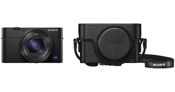 Sony Cybershot DSC-RX100 IV + LCJ-RXF cover