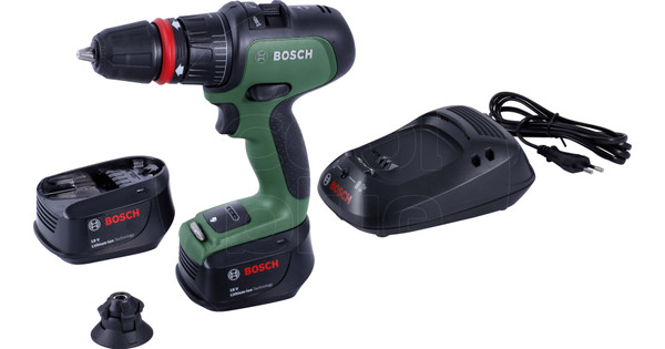 Bosch AdvancedImpact 18 with 2x 1.3Ah batteries