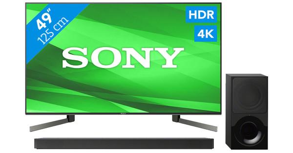 Sony KD-KD49XG9005 + Soundbar
