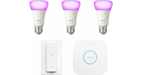 Philips HUE Color Starter Pack met Dimmer