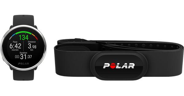 Polar Ignite Zwart S + Polar H10 Hartslagsensor M-XXL