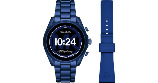Michael Kors Access Bradshaw Gen 5 MKT5102 Blue + extra silicone strap