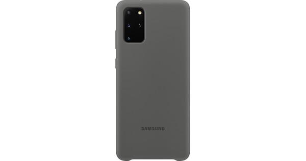 Samsung Galaxy S20 Plus Silicone Back Cover Grijs