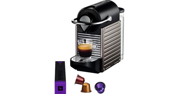 Krups Nespresso Pixie XN3005 Electric Titan