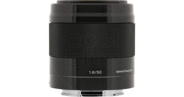 Sony E 50mm f/1.8 OSS Black