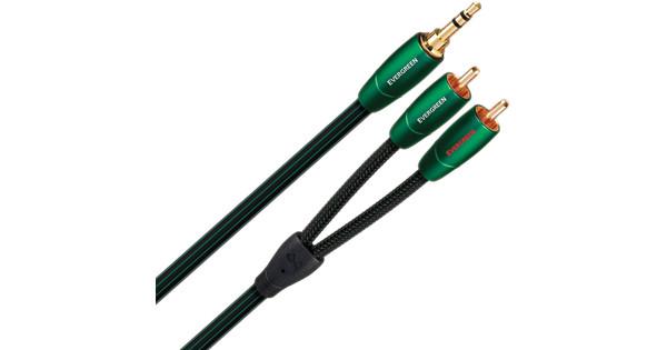 AudioQuest Evergreen 3,5 mm naar RCA 0,6 meter