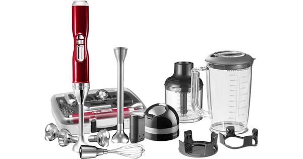 KitchenAid Artisan Draadloze Staafmixer met accessoires