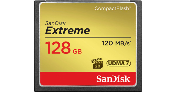 Sandisk CF Extreme 128GB 120MB/s