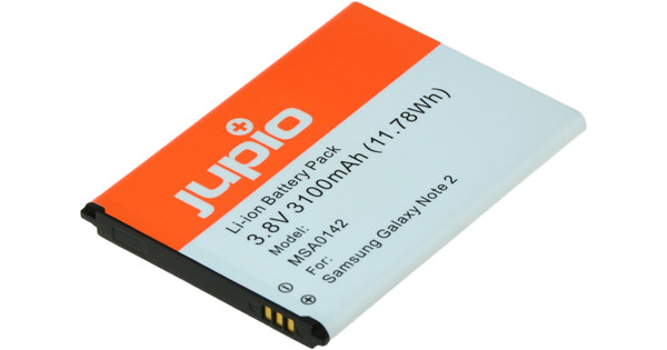 Jupio Samsung Galaxy Note 2 Accu 3100 mAh
