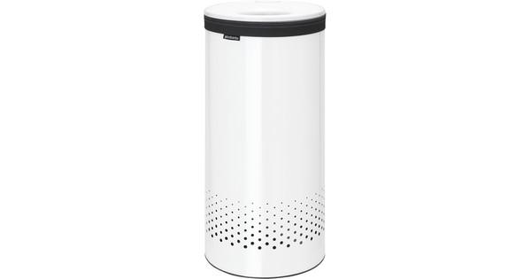 Brabantia Wasbox 35 liter wit kunststof deksel