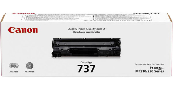 Canon CRG-737 Toner Black (9435B002)