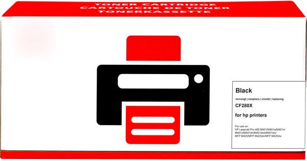 Pixeljet 80X Toner Zwart (Hoge Capaciteit)