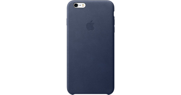 Apple iPhone 6s Plus Leather Case Blauw