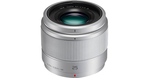 Panasonic Lumix G 25mm f/1.7 ASPH silver