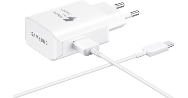 Samsung Charger with Cable 1.5m USB-C 25W with Adaptive Fast Charge White
