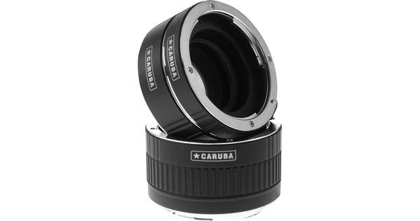 Caruba Extension Tube set Canon Chrome (type II)