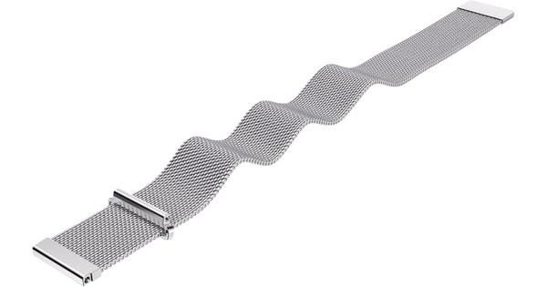 Just in Case Samsung Gear S3 Milanese Watchband Silver