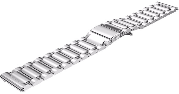 Just in Case Samsung Gear S3 Stainless Steel Watchband Silve