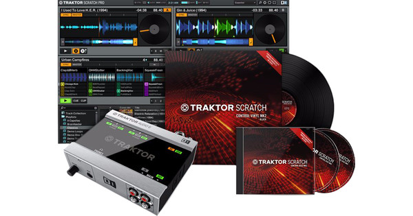 Native Instruments Traktor Scratch Control A6 MKII