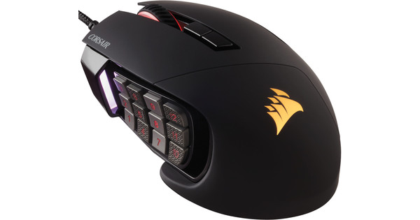Corsair Scimitar Pro RGB Zwart