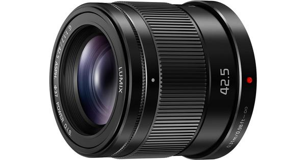 Panasonic Lumix G MFT 42.5mm f/1.7 ASPH O.I.S. Black