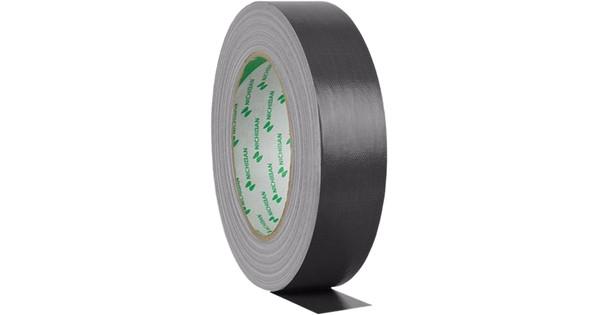 Nichiban Gaffa Tape Black 25 m long, 50 mm Wide