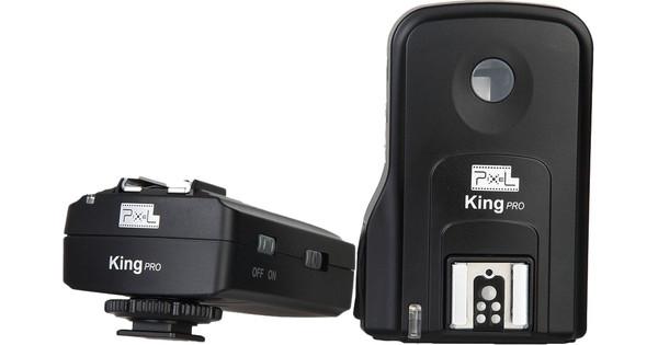 Pixel e-TTL Trigger Set King Pro voor Canon