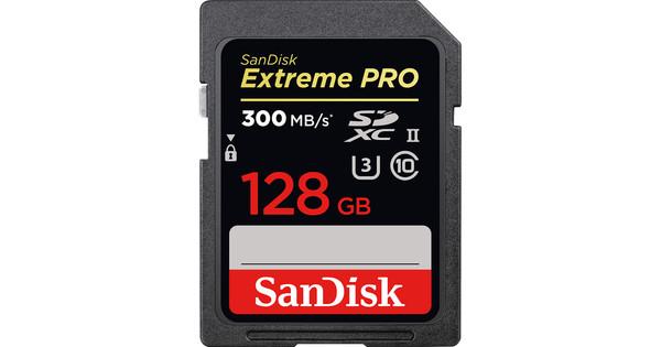 Sandisk SDXC Extreme Pro 128GB 300MB/s C10 UHS-II