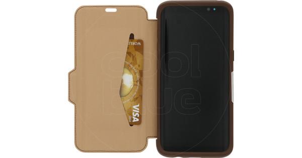 Otterbox Strada Samsung Galaxy S8 Book Case Brown