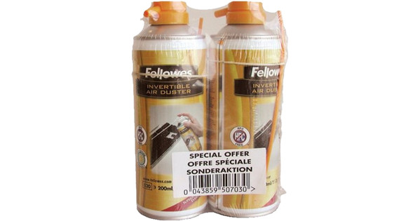 Fellowes HFC Vrije Airduster 2 Pack 2x 200 ml