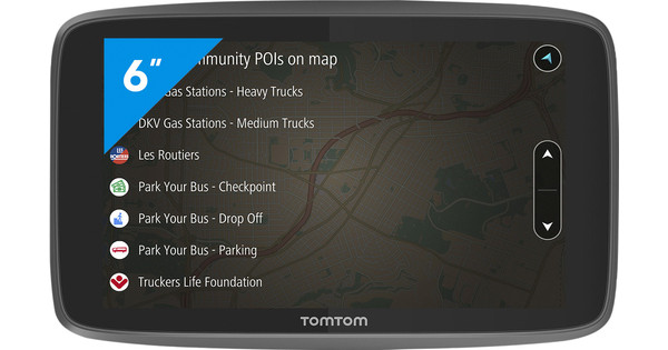 TomTom Go Professional 6200 Europa