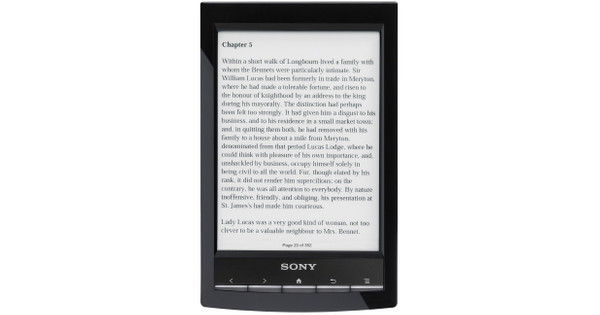 Sony Reader Touch PRS-T1 Black