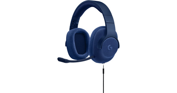 Logitech G433 7.1 Surround Sound Gaming Headset Blauw