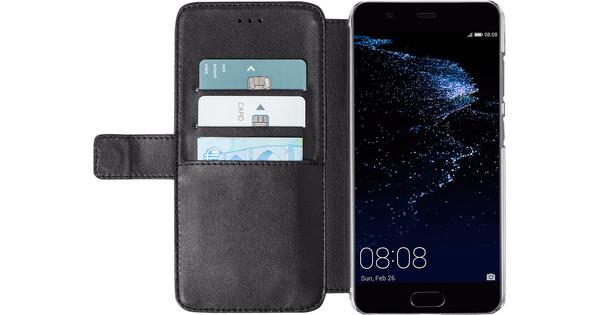 Azuri Wallet Magneet Huawei P10 Plus Book Case Zwart