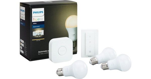 Philips Hue Starter Pack White met Dimmer