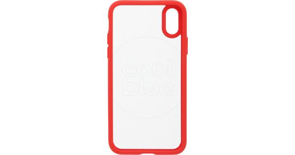Spigen Ultra Hybrid Apple iPhone X Back Cover Red