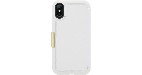 Otterbox Strada Apple iPhone X Book Case Wit