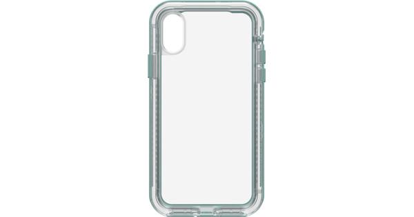 Lifeproof Next Apple iPhone X Back Cover Blauw