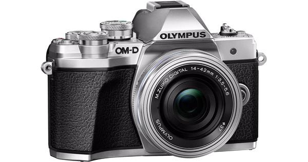 Olympus OM-D E-M10 Mark III Body Zilver + 14-42mm EZ Zilver