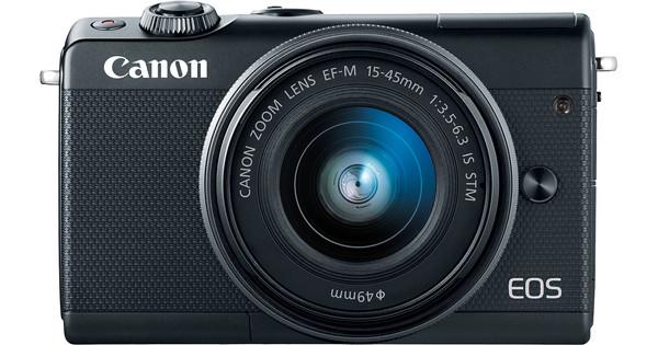Canon EOS M100 Black + 15-45mm IS STM