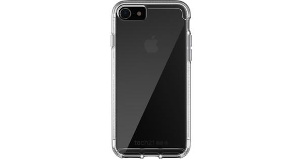Tech21 Pure Clear Apple iPhone SE 2/8/7 Back Cover Transparent